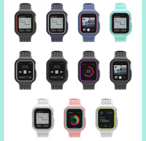 For Apple Watch 3 4 5 6 44/42mm Waterproof Tactical Rugged Protective Full Case