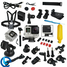 GoPro HERO4 Black Edition Action Camera+40 PCS Accessory Kit +16GB SD