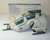 1987 GI Joe Cobra Snow Wolf Ski Vehicle w/ Blueprints *Near Complete