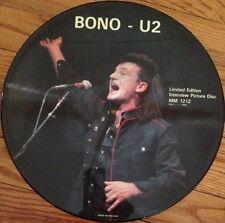 Bono/U2, Interview, NEW/MINT Ltd edition PICTURE DISC 12 inch single MM1212