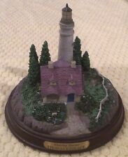 Thomas Kinkade Lighthouse Statue- Clearing Storms