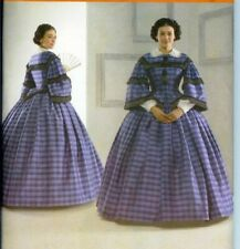 OOP  Civil War Costume Simplicity Sewing Pattern 3727 Misses Plus Size 16 - 24