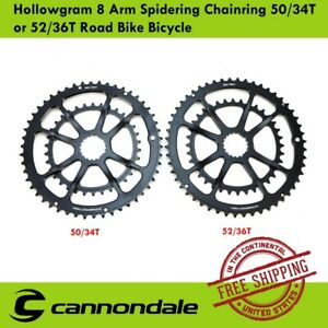 Cannondale Hollowgram 8 Arm Road Bike Spidering Chainring 50/34T or 52/36T