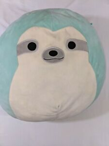 Squishmallows KellyToy Plush Aqua the Sloth 16 Inches Large Stuffed Animal