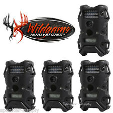 4 Pack Set Wildgame Innnovations Terra 8 Infrared Digital Trail Game Camera 8MP
