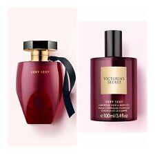 Victoria's Secret VERY SEXY Eau de Parfum(3.4 fl.oz.) + Luminous Hair & Body Oil