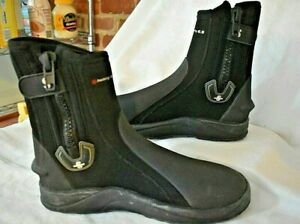 ScubaPro Heavy Duty 6.5 mm Boots NEW Size Large (9/10) New With Bag