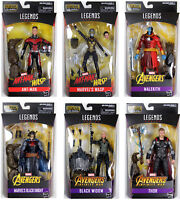 Marvel Legends ~ AVENGERS ACTION FIGURE SET w/CULL OBSIDIAN BAF COMPLETE