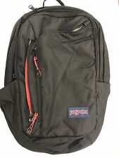 JANSPORT BLACK PLATFORM BACKPACK # T55B008