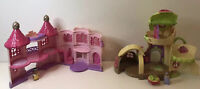 ELC Happyland Fairy Bluebell Boot & Pink Princess Castle 2 Figures NON WORKING