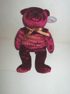 HERRINGTON TEDDY BEARS CHEESECAKE FACTORY RESTAURANT PLUSH 2010 RED VELVET
