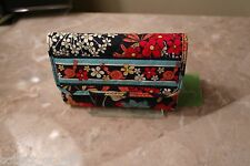 VERA BRADLEY EURO WALLET- HAPPY SNAILS- NEW WITH TAG