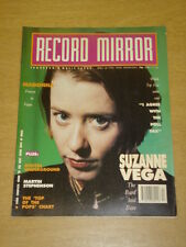 RECORD MIRROR 1990 APRIL 28 SUZANNE VEGA MADONNA