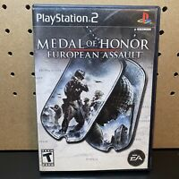 Medal of Honor European Assault - PlayStation 2 PS2 - Tested