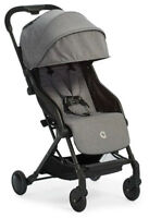 Contours Bitsy Ultra-Lightweight Compact Fold Baby Travel Stroller Granite Gray