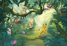 LION KING JUNGLE Disney Foto Carta Da Parati Murale parete per bambini 368x254cm (Komar)