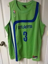 Vintage Shareef Abdur Rahim Jersey Men 3X Length +2 Nike Throwback Atlanta Hawks