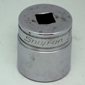 """SNAP-ON 1/2"""" Drive 30mm 12-Point Socket SWM301 Made in USA"""