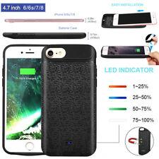 2500Mah Slim Magnet Akku Hülle Backup Battery Cover Power Case für iPhone 6/7/8