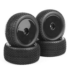 4Pcs Front Rear Tires Wheel Rims For HSP HPI Racing RC 1:10 Off-Road Buggy Car