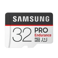 SAMSUNG PRO Endurance Memory Card with Adapter Micro SD Card Class 10 - 32GB