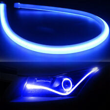 60cm Flexible Car Tube LED Strip Light DRL Daytime Running Headlight Lamp Blue
