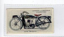(Jd6127) LAMBERT & BUTLER,MOTOR CYCLES,NEW IMPERIAL,1923,#33