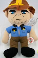 "Walking Dead Doll Rick Grimes Zombie Sheriff 15"" 2012 NWT TV Series 1 Character"