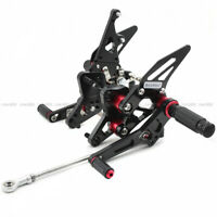 For SUZUKI HAYABUSA GSXR1300 GSXS 750 Rearset Footrest Footpeg Brake Shift Pedal