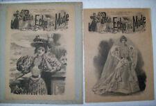 PAGES CHOISIES ECHO DE LA MODE 1895