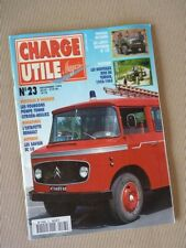 Charge Utile n°23, Laffly W15, Citroën T55, Ford, motoculture 1950-69, Mathis QG
