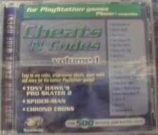 NEW FACTORY SEALED GameShark Cheats 'N Codes Volume 1 CD For PlayStation PSX