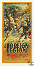 The foreign legion Carl Laemmle vintage movie poster