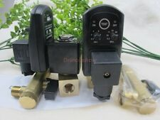 "AC220V 1/2"" Automatic Electronic Timed Air Compressor Tank Drain Valve"