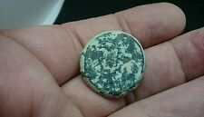 Nice Roman thick Bronze stud/application decoration as found Uncleaned L96