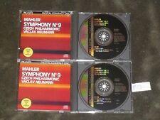 Gustav Mahler CD / Symphony No. 9 / 2-discs / Vaclav Neumann / Pro-Arte Japan