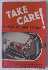 Vintage 1944 Du Pont Cooling System Ad - Car & Automobile - Gas Oil