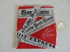 Vintage 80 SAFAC Tg 8 Calze Collant Donna 70 Marrone 20 Den Microfilm Carne NOS