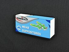 MOAB Suppositories 3D PVC Morale Patch VELCRO® Brand Mother Of All Bombs ISIS