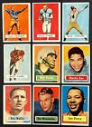VINTAGE CARD LOT 1957 TOPPS FOOTBALL VENDING RARE BART STARR ROOKIE CARD RC