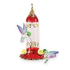 Glass Baron ~ Hanging Hummingbird Feeder