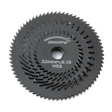 5× Steel Wood Cutting Wheel Saw Blade Disc Dremel Rotary Tool Craft With Mandrel