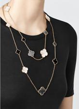 Van Cleef Arpels Alhambra 16-Motif Long Necklace