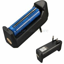 Rechargeable 3.7V 3800mAh 18650 Li-ion Battery FOR Flashlight + AC Smart Charger