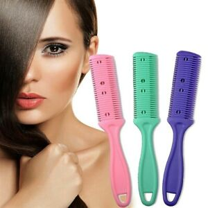 New Barber Scissor DIY Hair Cut Styling Razor Comb Hairdressing Thinning Trimmer