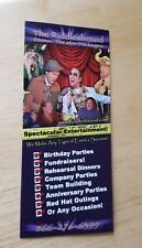 The Riddlesbrood Touring Theatre Company Brochure Murder Mystery Dinner Laughter