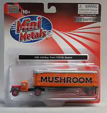 CLASSIC METAL WORKS HO SCALE 1941/46 CHEVY TRACTOR TRAILER MUSHROOM train 31166
