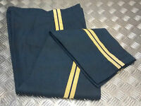 Genuine British RAF Royal Air Force Number 9 (A)  No9 Dress Trousers Damaged