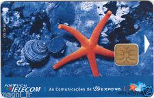 Télécarte Portugal - Uma estrela na EXPO 98  (A3854)