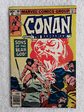 Conan The Barbarian #109 (April 1980, Marvel) Newsstand VG